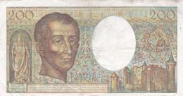 France - Billet De 200 Francs Type Montesquieu - 1981 - 200 F 1981-1994 ''Montesquieu''