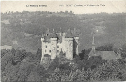 19 Correze Le Plateau Central BORT - Chateau De Vals - Other Municipalities