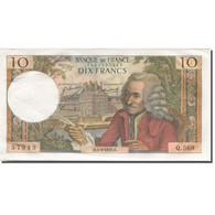 France, 10 Francs, Voltaire, 1963, 1970-03-05, SPL, Fayette:62.43, KM:147c - 10 F 1963-1973 ''Voltaire''