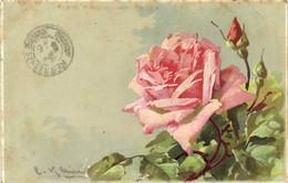 C KLEIN  Roses Roses Recto Verso - Pittura & Quadri