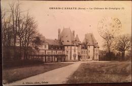 Cpa De 1924, Orbais L'ABBAYE (51 Marne), Le Château De Coupigny, Olivier Photo,  écrite - Altri Comuni
