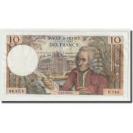 France, 10 Francs, Voltaire, 1972, 1972-02-03, SPL+, Fayette:62.54, KM:147d - 10 F 1963-1973 ''Voltaire''
