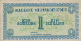 Autriche - Billet De 1 Schilling - Alliierte Militärbehörde - Emissions Alliés - Série 1944 - P103b - Austria