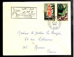 38880 A - Vol ALGER  LE CAIRE - Algeria (1962-...)