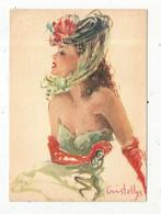 Cp, Illustrateur , Signée Vincent CRISTELLYS , PARISIENNE , Ed. Yvon ,  N° I.k. 205 ,  Vierge - Other Illustrators