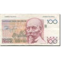 Billet, Belgique, 100 Francs, Undated (1982-94), KM:142a, TTB+ - 100 Francs