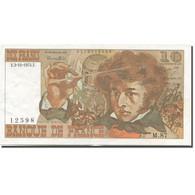 France, 10 Francs, Berlioz, 1972, 1974-10-03, SUP, Fayette:63.7a, KM:150a - 10 F 1972-1978 ''Berlioz''