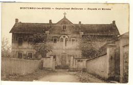 3179-71 MONTCEAU Les MINES  - Orphelinat Bellevue -Façade Et Entrée - Montceau Les Mines