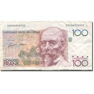 Billet, Belgique, 100 Francs, Undated (1982-94), KM:142a, TB - 100 Francs