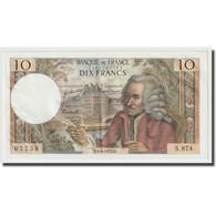 France, 10 Francs, Voltaire, 1973, 1973-04-05, SPL, Fayette:F62.61, KM:147d - 10 F 1963-1973 ''Voltaire''