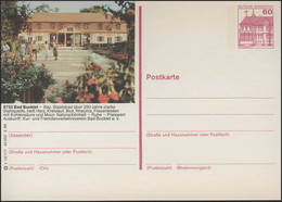 P138-s12/177 8733 Bad Bocklet, Kurmittelhaus ** - Cartoline Illustrate - Nuovi