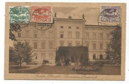 HAUTE SILESIE COMMISSION DE GOUVERNEMENT 5PF+10PF+15PF AU RECTO CARTE RATIBOR 20.3.1921 - Sectores De Coordinación