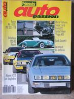 Revue Auto Passion N° 31 (janv 1990) Micro Voitures Isetta Simca 5 - Delahaye - Alpine A 310 - Auto/Moto