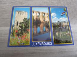 LUXEMBOURG - MULTI-VUES - EDITIONS MESSAGERIES DU LIVRE - ANNEE 2001 - - Lussemburgo - Città