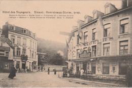 N°7563 R -cpa Dinant -hôtel Des Voyageurs -Henroteauxs Storm -propriétaire- - Dinant