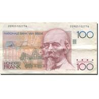 Billet, Belgique, 100 Francs, Undated (1982-94), KM:142a, TTB - 100 Francs