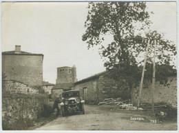 Sauvain (Loire). Route De Saint-Bonnet-le-Courceau. Tirage Circa 1925. - Lugares