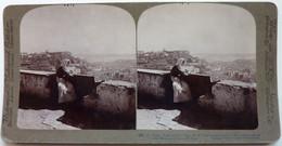 CHATEAU DE St GEORGES ET LE TAGE - LISBON - PORTUGAL - Stereoscopic