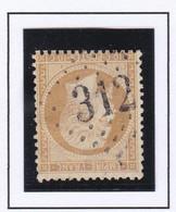 GC 312 BARCELONNETTE ( Dept 5 ) S / N° 21 - 1849-1876: Periodo Classico