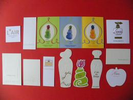 Lot De 12 Cartes Parfumées  - Nina Ricci - A Voir - Modern (from 1961)