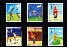 Olympics 1980 - Soccer - Basketball - YEMEN - Set MNH - Zomer 1980: Moskou
