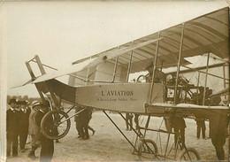 311020 - PHOTO ANCIENNE Vers 1909 - AVIATION AVION Aéroplane PAULHAN  8 Rue De La Grange Batelière PARIS Pilote - Aviation