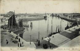 59 : Dunkerque - L' Entrée Du Port (Cliché Rare) - Dunkerque