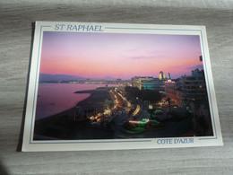 SAINT-RAPHAEL - VUE GENERALE EN NOCTURNE - EDITIONS FLORIAN MISTRAL - ANNEE 1993 - - Saint-Raphaël