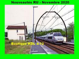 RU 1841 - TGV Atlantique Rame 342 En Gare De SAINT-GEOURS DE MAREMME - Landes - SNCF - Andere Gemeenten
