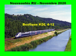 RU 1848 - TGV Duplex Rame 242 Vers MOISSAC - Tarn Et Garonne - SNCF - Moissac