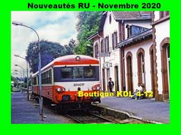 RU 1873 - Autorail Caravelle X 4577 En Gare - OBERNAI - Bas Rhin - SNCF - Obernai