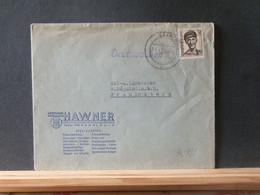 91/977   LETTRE SAARPOST 1948 - Covers & Documents
