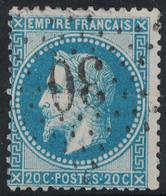 EMPIRE - N°29B - ETOILE 30 DE PARIS - COTE ETOILE 13€. - 1849-1876: Periodo Clásico