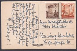 Eh_ Generalgouvernement - Ansichtskarte Mit Mi.Nr. 40 + 41 - Zakopane - Tatry Mnich - Briefe U. Dokumente
