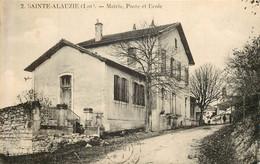 SAINTE ALAUZIE  Mairie Poste école - Altri Comuni