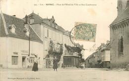 VAYRAC Place De L'hotel De Ville Et Rue Cambronne - Vayrac
