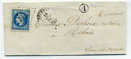 T15 COUBERT + BR A De SOLERS / Dept 73 Seine Et Marne / 1869 - 1849-1876: Classic Period