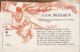 ILLUSTRATEUR Willette  A S.M NICOLAS II PROMOTEUR DE LACcONFÉRENCE DE LA HAYE - People