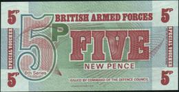 ♛ GREAT BRITAIN - 5 New Pence Nd.(1972) UNC P.M 47 - Forze Armate Britanniche & Docuementi Speciali