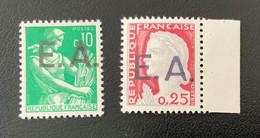 ALGERIE 1962 - YT354/355 ** -  SURCHARGE EA AIN EL TURK (ORAN) - 9.482 (Surcharge Locale) - Algeria (1962-...)