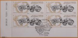 2020 - BLOC 4 - Coin Daté - 250 Ans Du Fardier De Cugnot 1770-2020 - Oblitéré 1er JOUR - 16.10.2020 - YT 5434 - Used Stamps