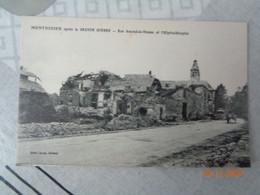 MONTDIDIER  Après La Grande Guerre : Rue Amand -de-Vienne  Et L'hospital -hospice - Montdidier