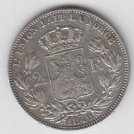 2 1/2 Frank / 2,5 Frank Van 1849 Groot Hoofd. - 10. 2 1/2 Franco