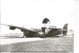 PHOTO AVION CONSOLIDATED LIBERATOR  CRASH  J+ 294810?       17X11CM - Aviazione