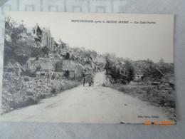 MONTDIDIER  Après La Grande Guerre :rue Saint-Martin - Montdidier