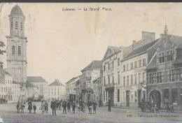 25 10/ 9//    LOKEREN     LA GRAND PLACE    MET RESTAURANT EN DE BORELING ?  + VEEL VOLK - Unclassified