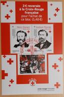 """BF 2020 BLOC CROIX ROUGE """"Dunant, Moynier & Collecte"""" - OBLITÉRATION PREMIER JOUR 02.10.2020 - YT 5430 - 5432 - Used Stamps"""