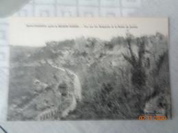 MONTDIDIER  Après La Grande Guerre :vue Sur Les Remparts Et  Le Palais De Justice - Montdidier
