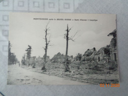 MONTDIDIER  Après La Grande Guerre :route D'Amiens à Compiègne - Montdidier