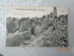 MONTDIDIER  Après La Grande Guerre :rue Bosquillon - Montdidier
